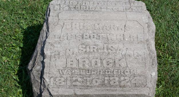 Commemorative Tombstone
