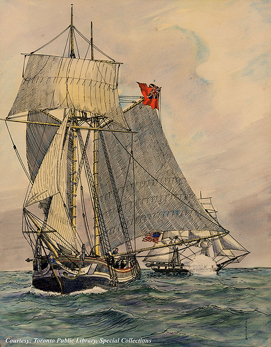 Lord Nelson capture