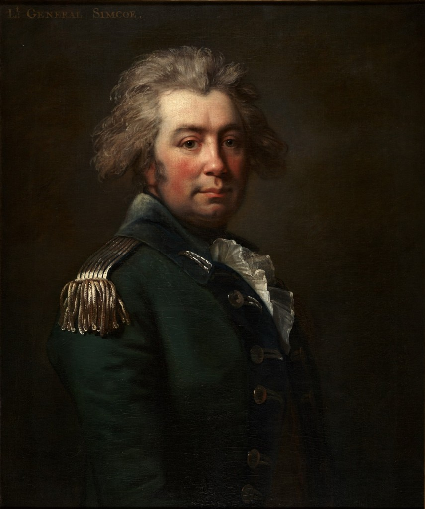 Simcoe portrait