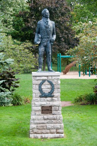 Simcoe statue