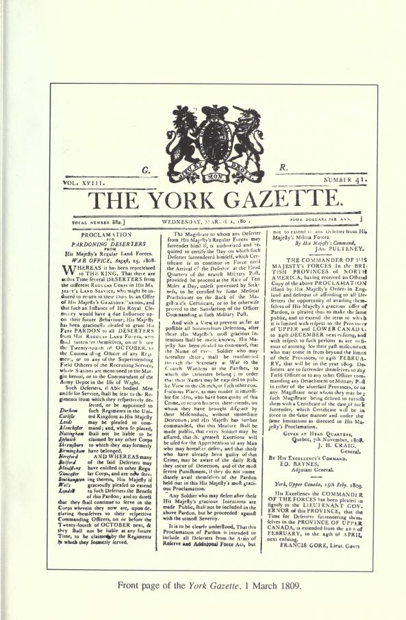 york gazette