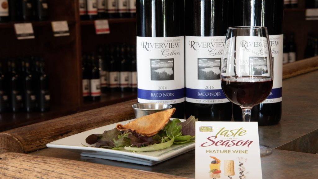Wineries of Niagara-on-the-Lake celebrate the bountiful fall harvest by pairing wines with locally-inspired culinary creations.